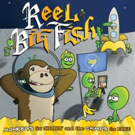 Real  Fish on Big Fish Monkeys For Nothin And The Chimps For Free