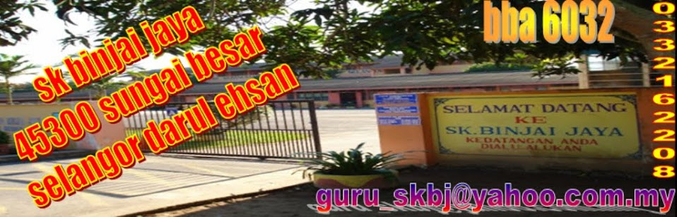 Laman Web Rasmi SK Binjai Jaya
