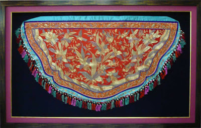 Framing of Nyonya Embroidery