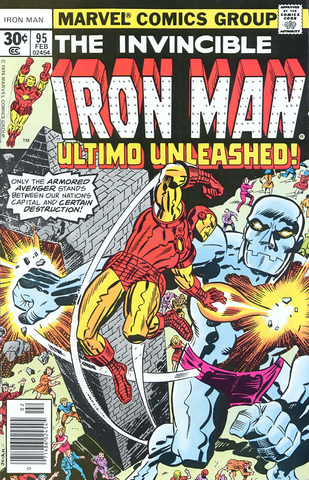 Jack Kirby Iron Man