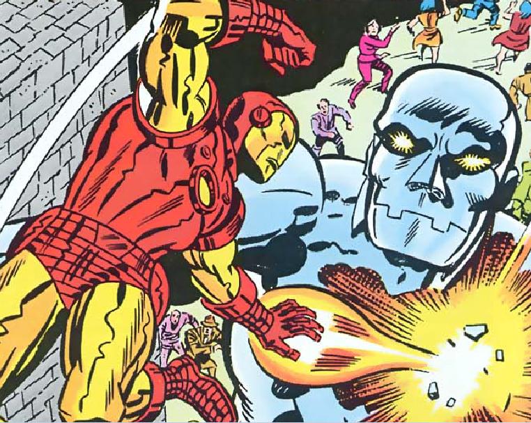 Iron Man Up Close | Kirby Dynamics