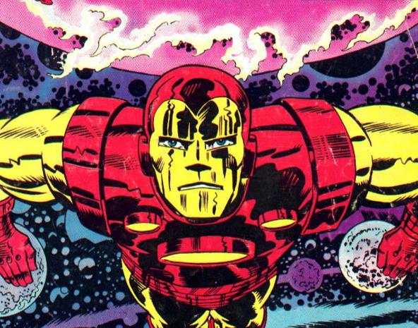 KIRBY DYNAMICS: Iron Man Up Close