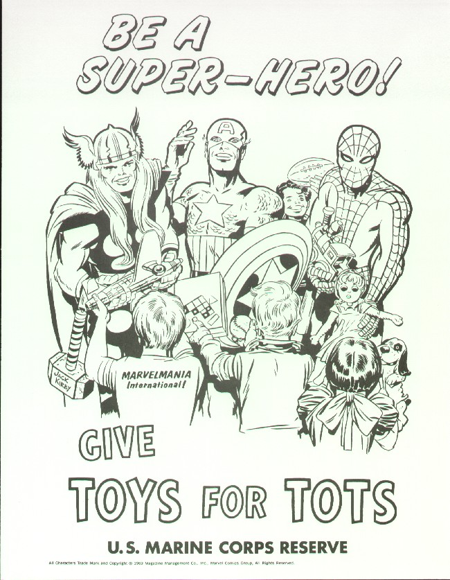Toys For Tots Promotional Posters : Toys for tots kirby dynamics