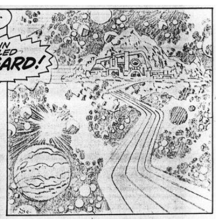 Kirby outer space scen...