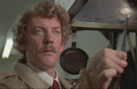 Donald Sutherland finds out he has more to fear than rat turds...