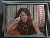 Judy Cler as feminist TV personality Sherry.