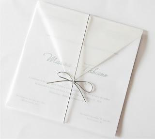Karen Nery Convites De Casamento Transparência