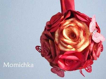 tissue paper flower balls instructions