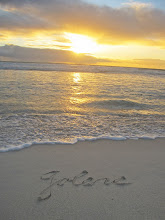 Jolene's Name in the Sand