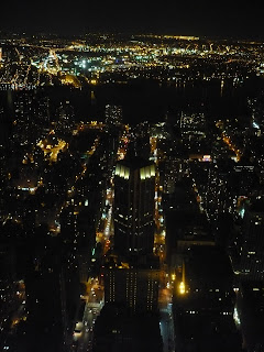 A view from the Empire State Building