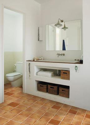 Mais solu es para banheiros pequenos cores da casa - Muebles para apartamentos de playa ...