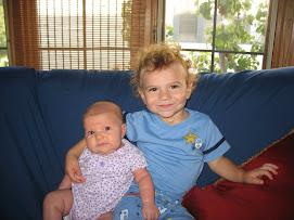 Noah & sister Lily
