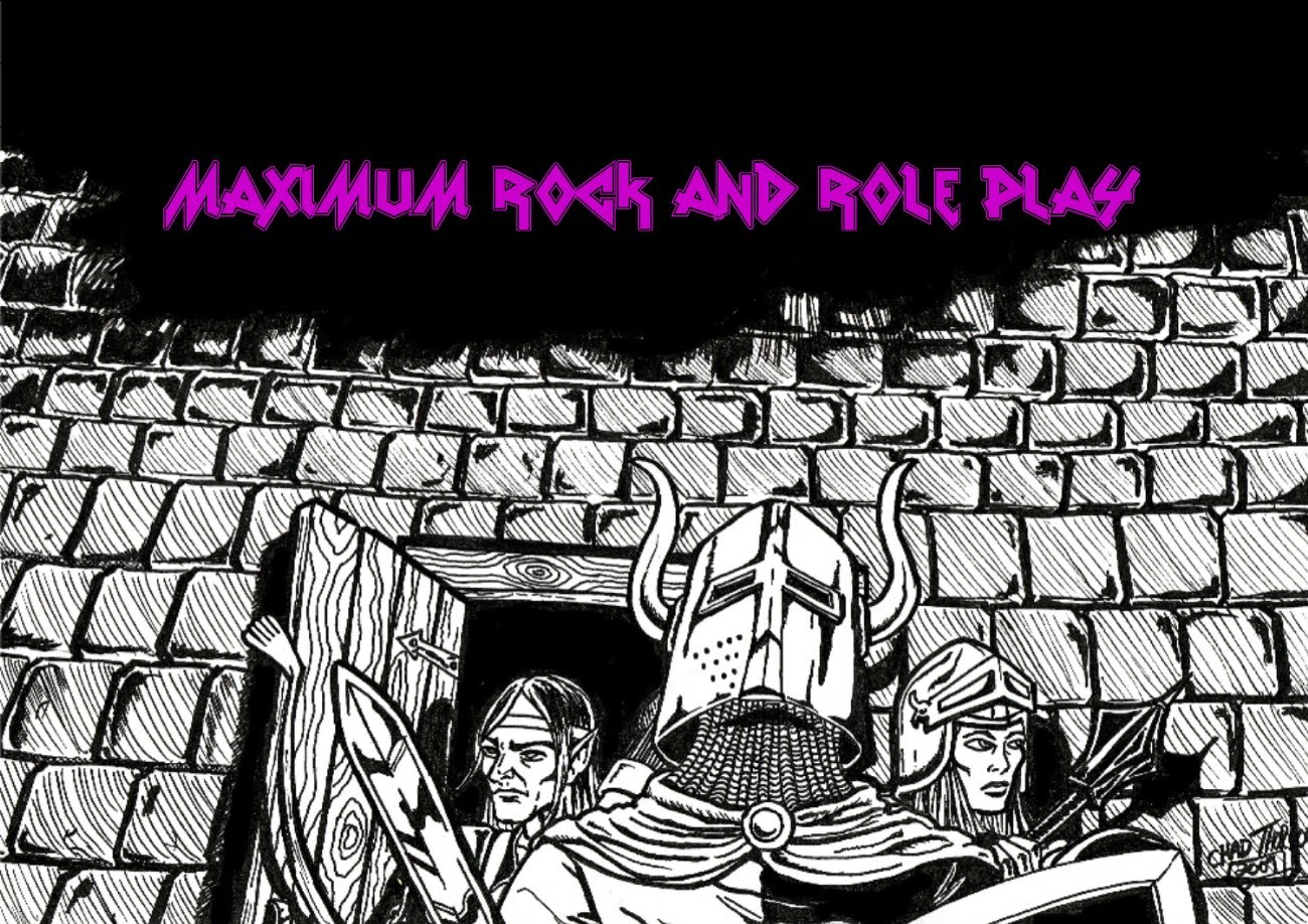 Maximum Rock & Role Playing