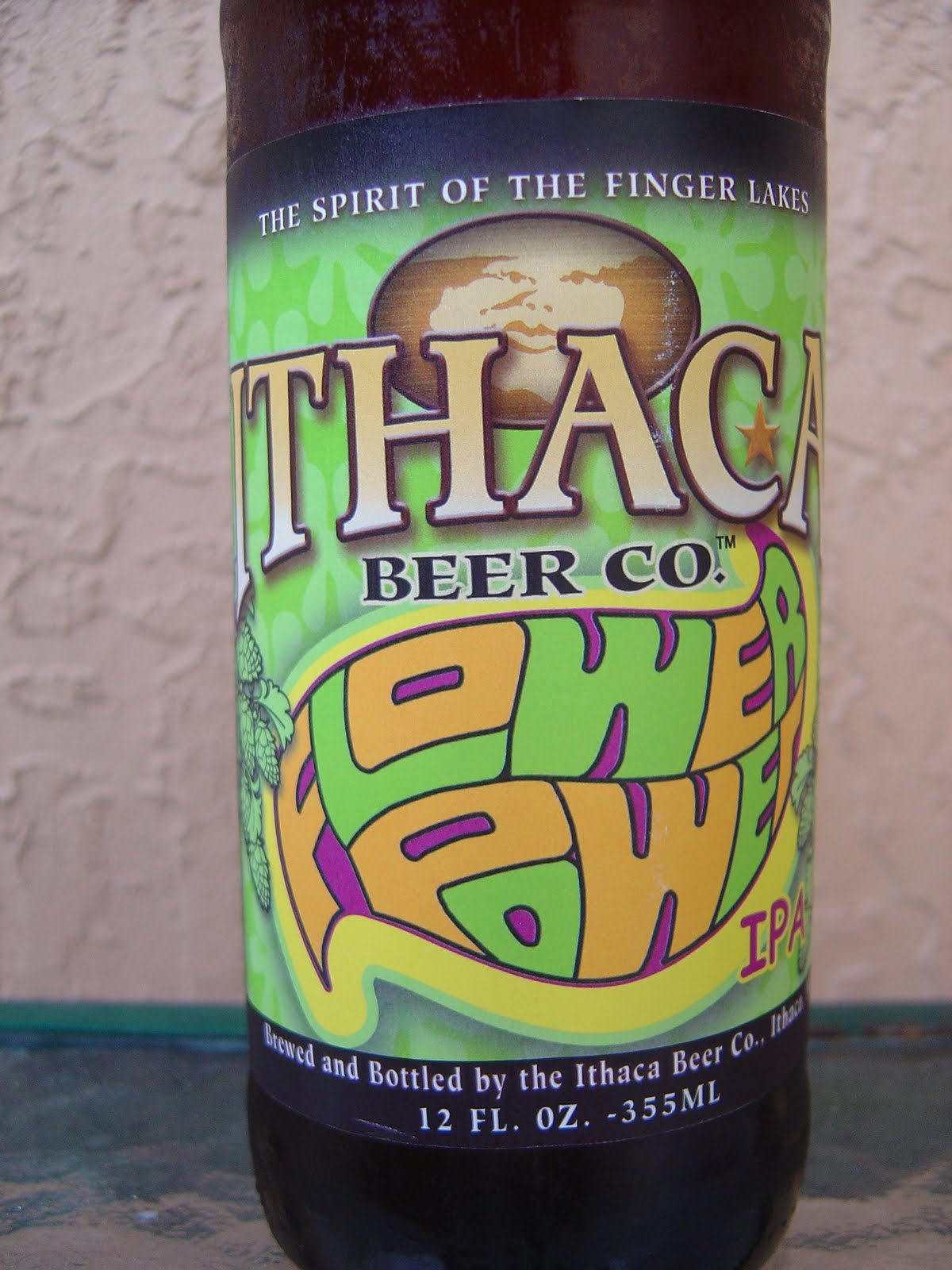 daily beer review  flower power ipa