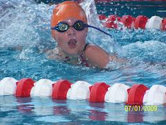 Swim fast San!