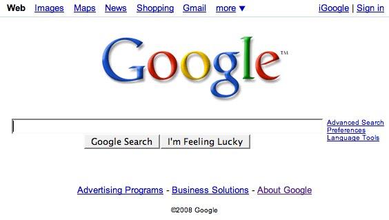 Lo que Google pregona