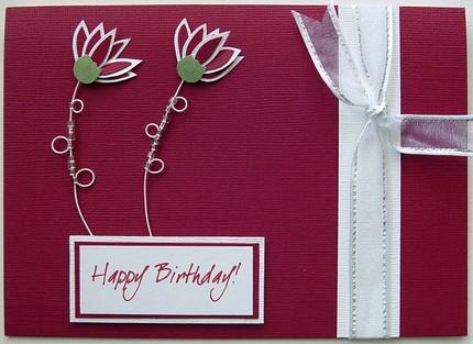 Happy Birthday Card Idea Handmade