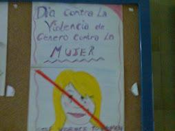 Día contra la violencia de Género.