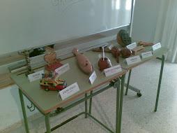 Exposición de objetos internacionales.