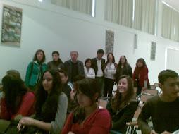 Alumnos y profesores asistentes a las actividades.