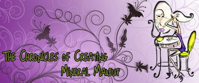 The Chronicles of creating Mineral Makeup !!