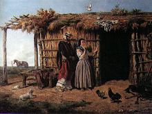 """Idilio Criollo"" (1861) de Juan Pedro León Pallière (1823-1887)"