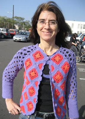 Crochet Pattern: Allyson's Sweater