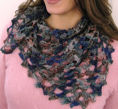 Leisure Arts The Cuffed Shawl and More - Crochet Patterns