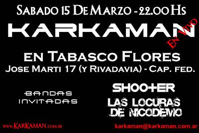 Karkaman en Tabasco Flores - 15/03/08