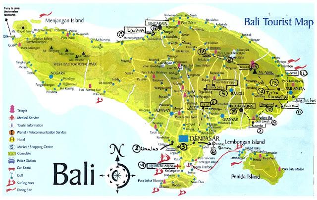 Bali Tourist Attractions And Tourist Destinations Indonesia