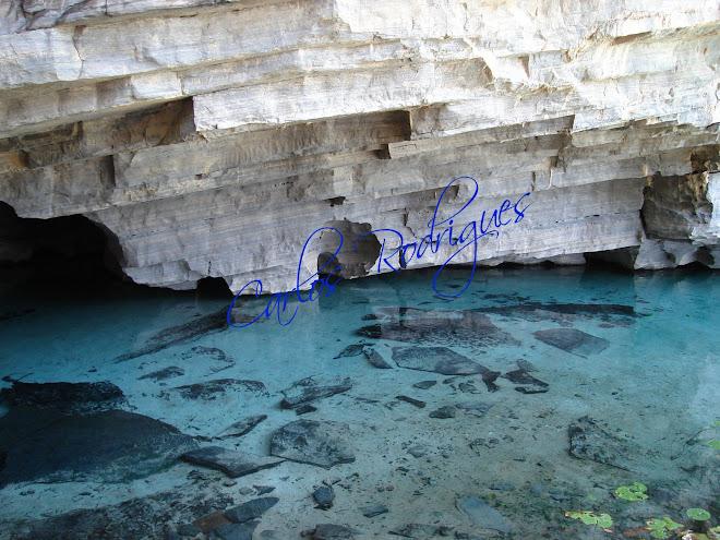 Uma Caverna de Calcário na Chapada Diamantina