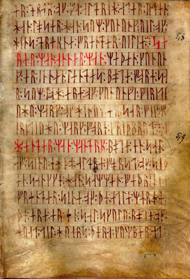 La escritura rúnica