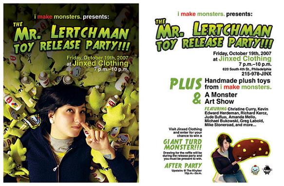 Mr. Lertchman Plush by Steff Bomb