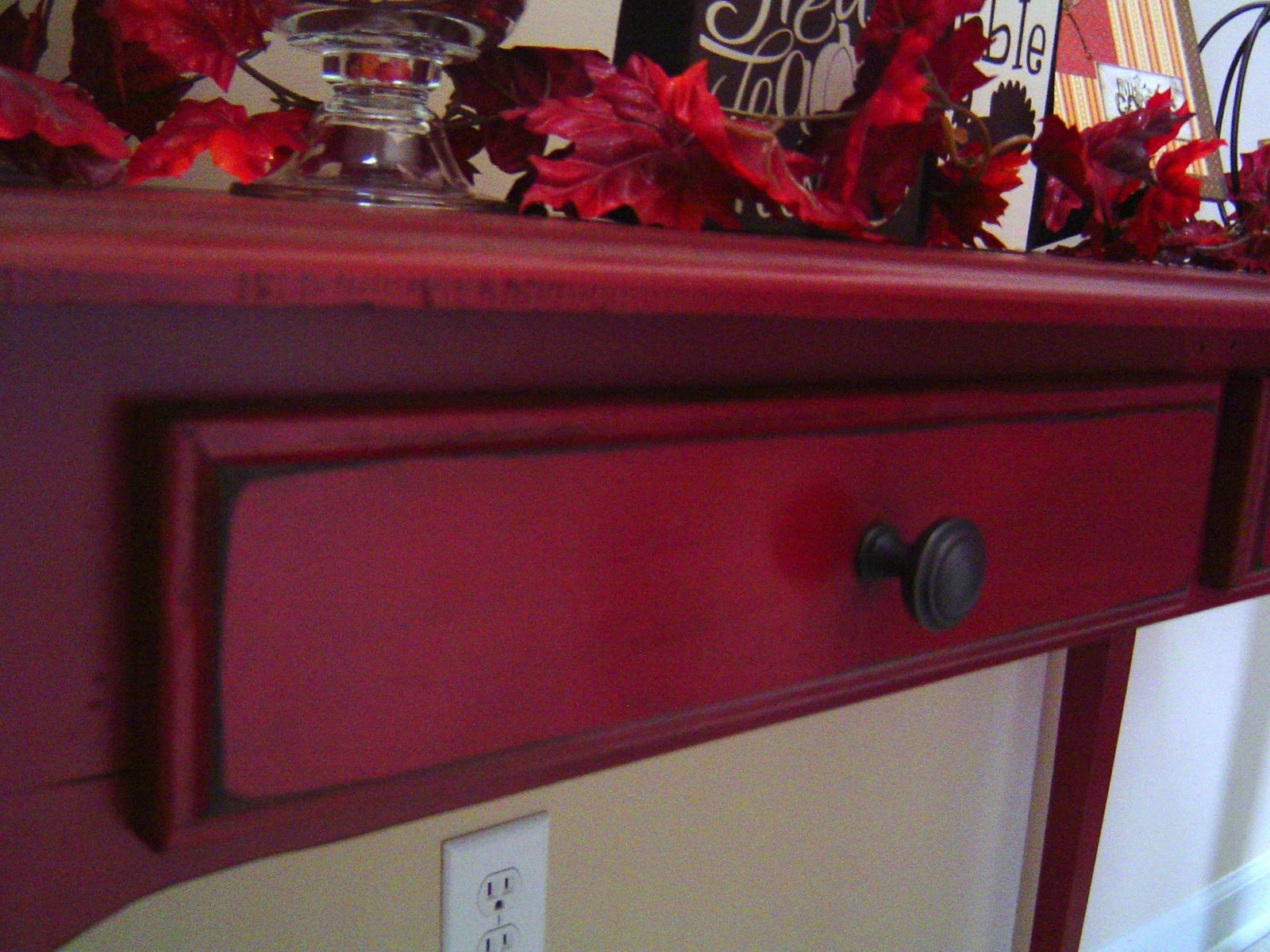 My RED Entry Table
