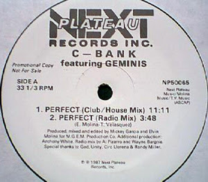 C-Bank & Geminis - Perfect [12'' Vinyl NPR 1987]