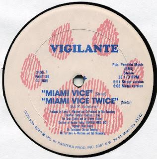 Vigilante - Miami Vice [12'' Vinyl 1985]