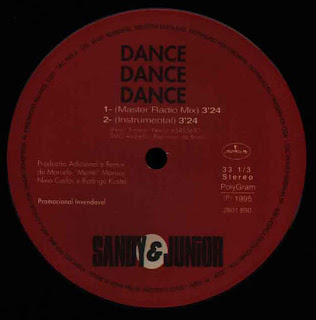 Sandy & Junior - Dance Dance Dance (12'' Single 1995)
