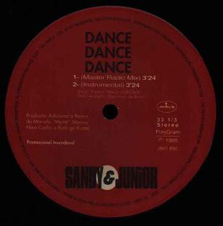 Sandy & Junior - Dance Dance Dance (12'' Single 1995)