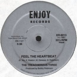 The Treacherous Three - Feel The Heartbeat [12'' Vinyl 1981]