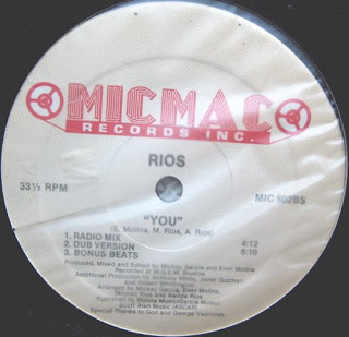 Rios - You [12'' Vinyl MicMac Records]