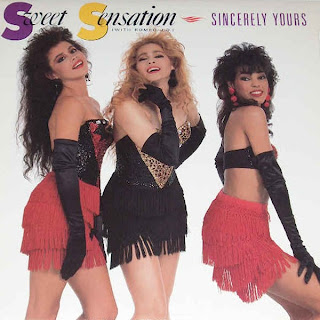 Sweet Sensation With Romeo J.D. - Sincerely Yours [12'' Vinyl 1988]