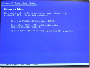 Windows XP Repair Installation