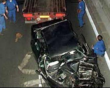 photo junction princess diana car accident photos