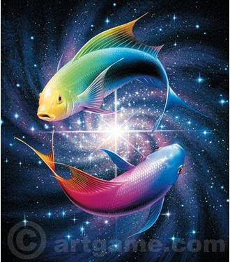 Symbols and Logos: Zodiac Sign Pisces Photos