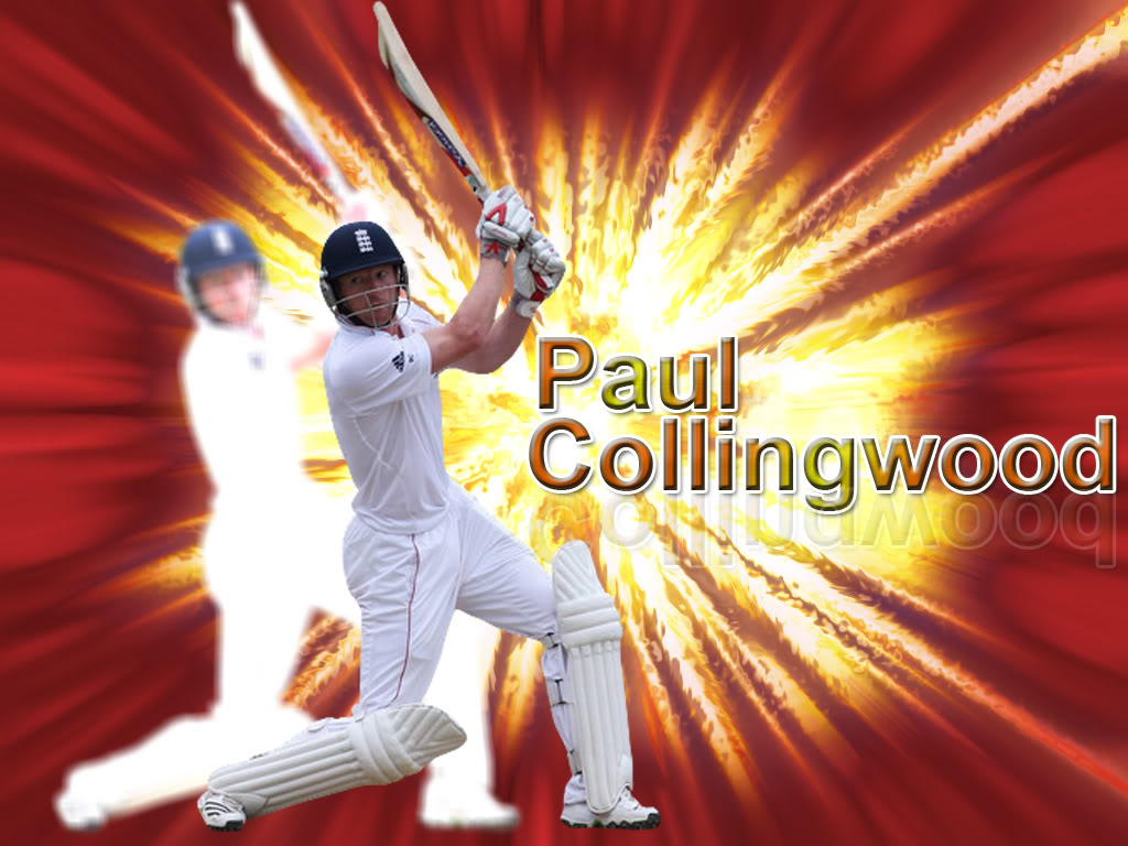 Just Wallpaper Inside: Cricketer Paul Collingwood Wallpapers