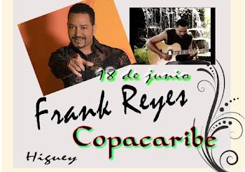 18 de junio 2010 Frank Reyes en Copacaribe Higuey