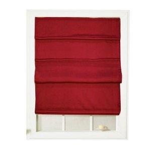 red roman shades 2017 - Grasscloth Wallpaper
