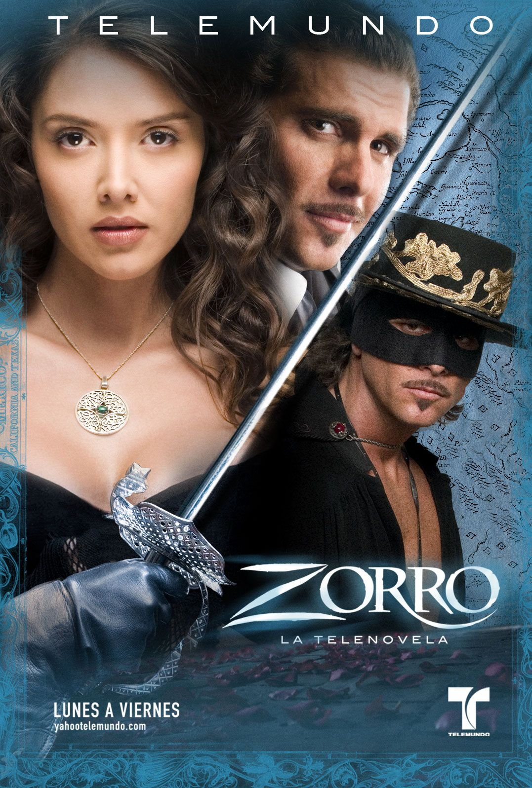 el zorro la espada y la rosa 2007 drama telenovela telemundo usa dvd