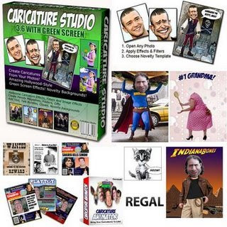 Download - Caricature Studio Green Screen 3.6 + Serial
