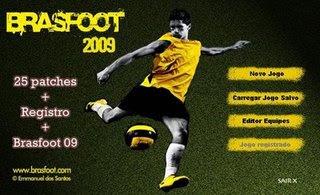 Brasfoot 2009 + Registro + 25 patches   2009